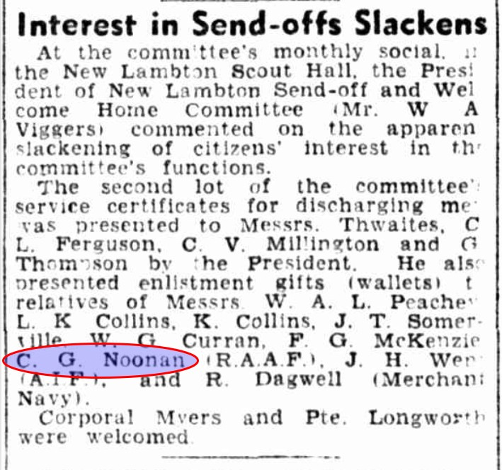 Trove article from the Newcastle Herald and Miners Advocate, Friday 5 May 1944.